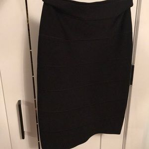 Brand new black BCBG tube skirt